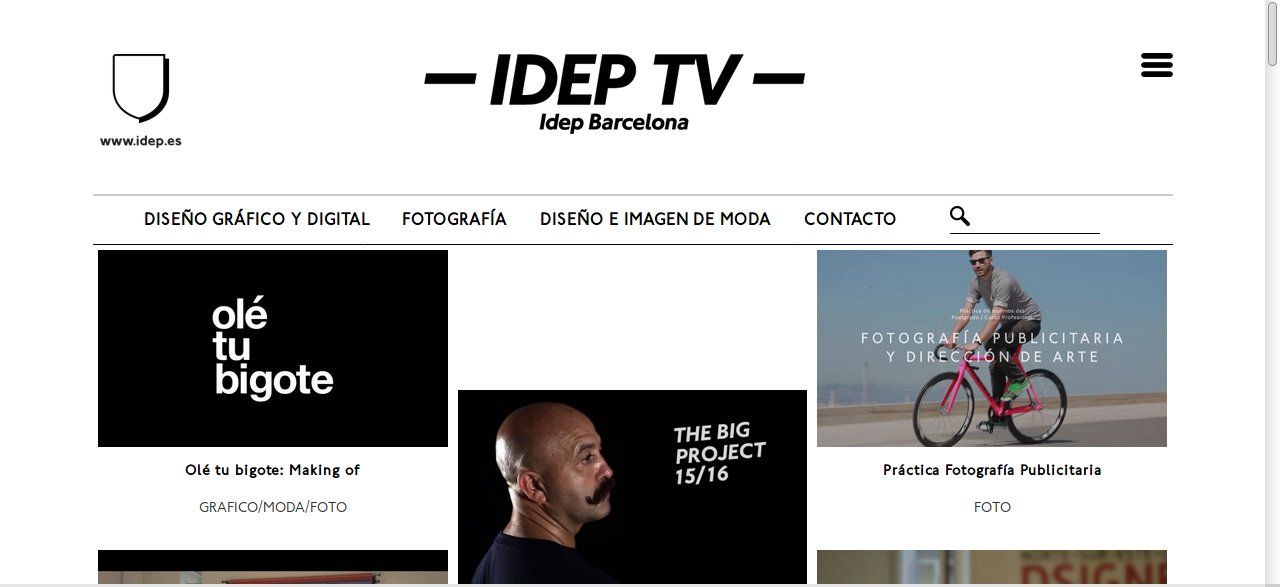 página ideptv
