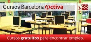 cursos gratuitos barcelona activa