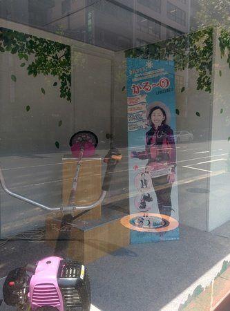 Desbrozadora japonesa para mujeres