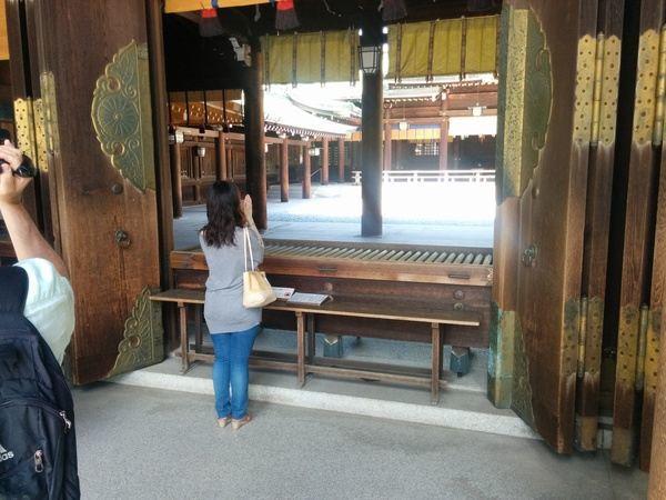 Pedir un deseo en Yoyogi Park