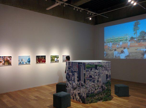 Exposición en Sony Building, en Tokyo