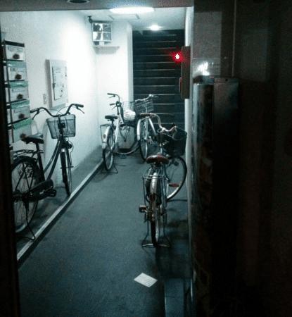 Bicis sin candado en casa japonesa