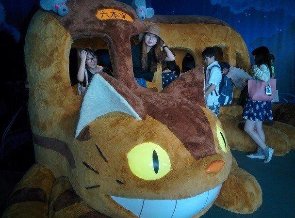 Neko Bus de estudio Ghibli
