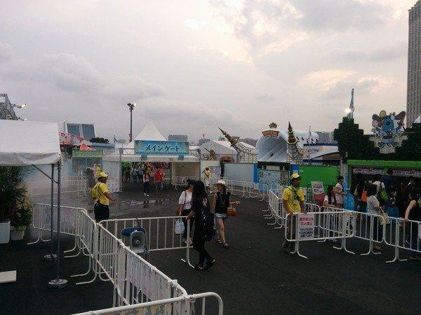 Parque de atracciones en Odaiba, Tokyo