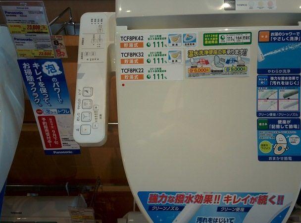 Retrete eléctrico Japón