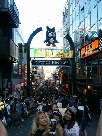 Takeshita dori en Harajuku Japón