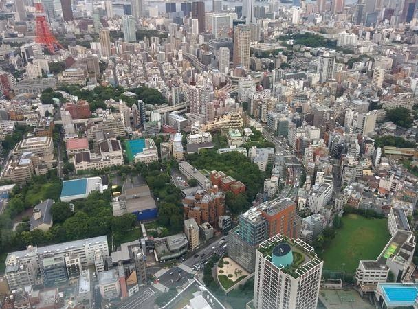Vista desde el piso 52 del Tokyo Sky View