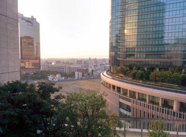 Vista desde el Lucua Building, en Osaka