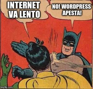 wordpress lento