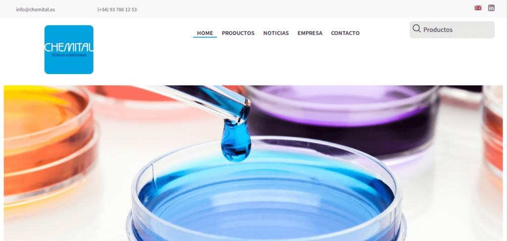 Página web de chemital.es