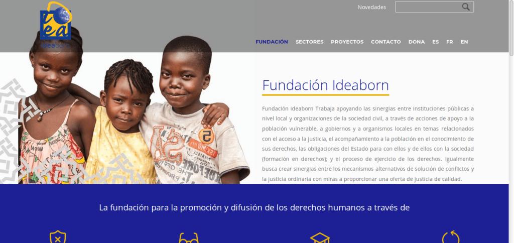 Página web de ideaborn.net
