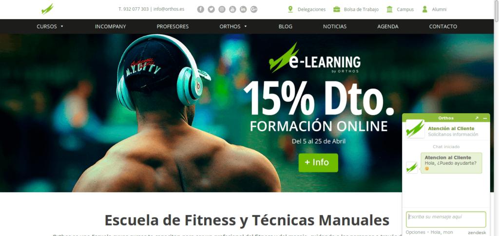 Página web de orthos.es