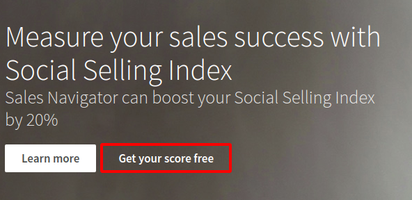 linkedin social selling index