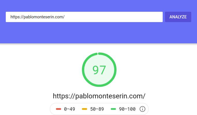 Mejorar la velocidad de WordPress 1