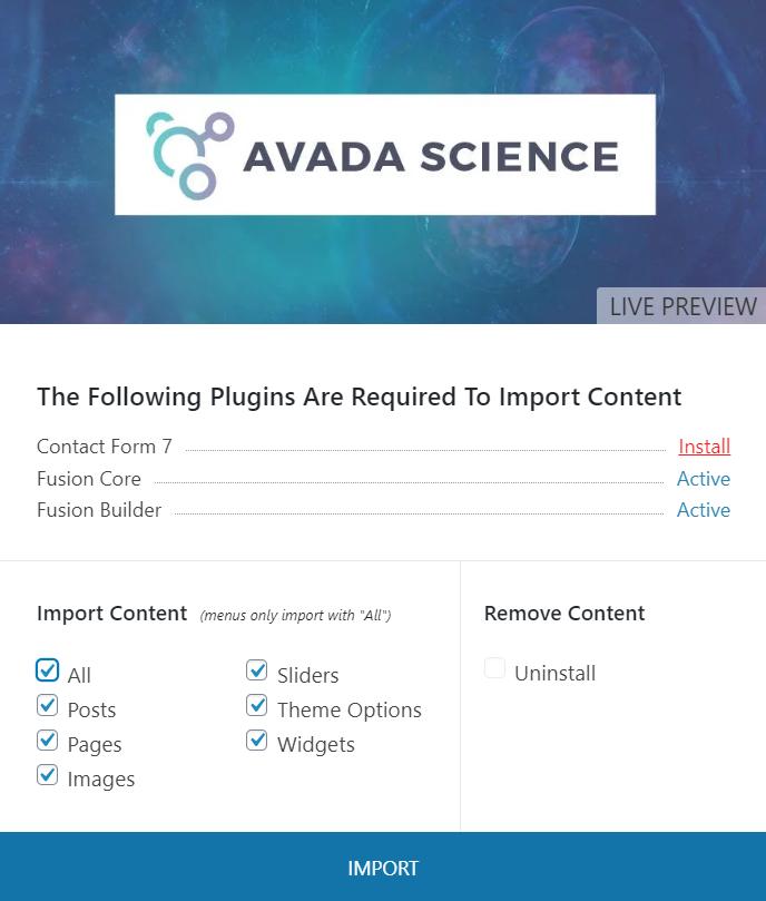 Cómo usar la plantilla Avada para Wordpress 3