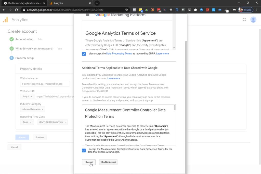 ¿Cómo configurar Google Analytics en Wordpress? 6