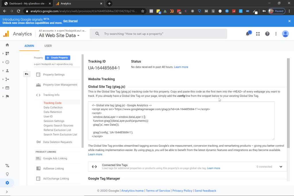 ¿Cómo configurar Google Analytics en Wordpress? 8