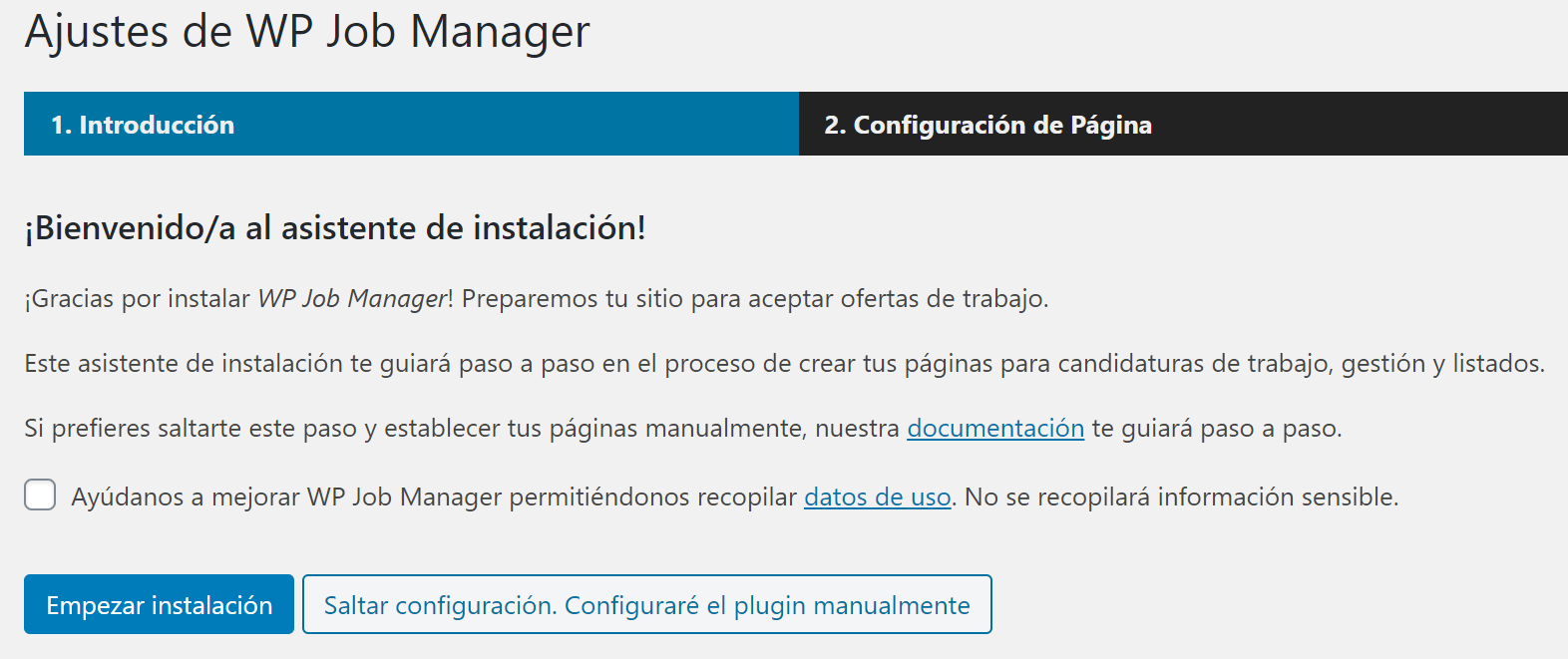¿Cómo usar WP JOB Manager? 2
