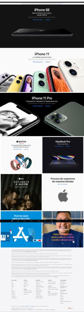 Maqueta la página de Apple España con HTML y CSS 1