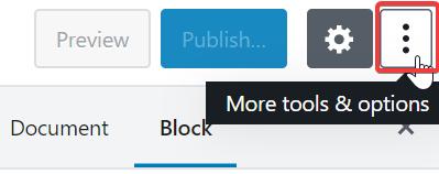 Editor de contenido Gutenberg para Wordpress 9