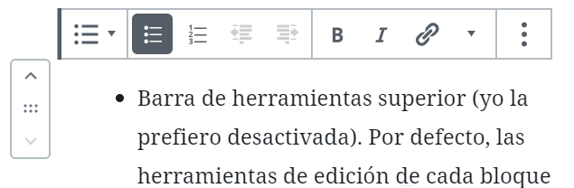Editor de contenido Gutenberg para Wordpress 10