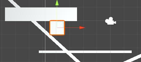 problema al colisionar contra un techo