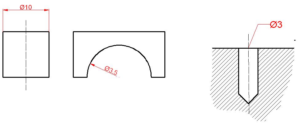 Dimensionamiento o acotación en Autocad 11