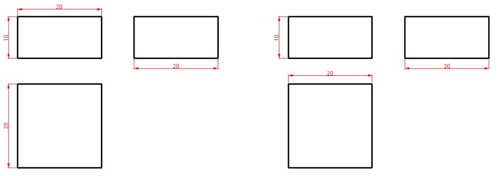 Dimensionamiento o acotación en Autocad 3