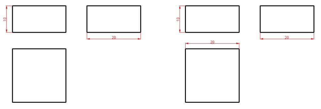 Dimensionamiento o acotación en Autocad 4