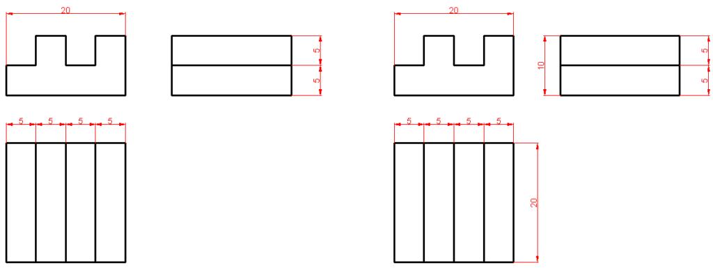 Dimensionamiento o acotación en Autocad 7