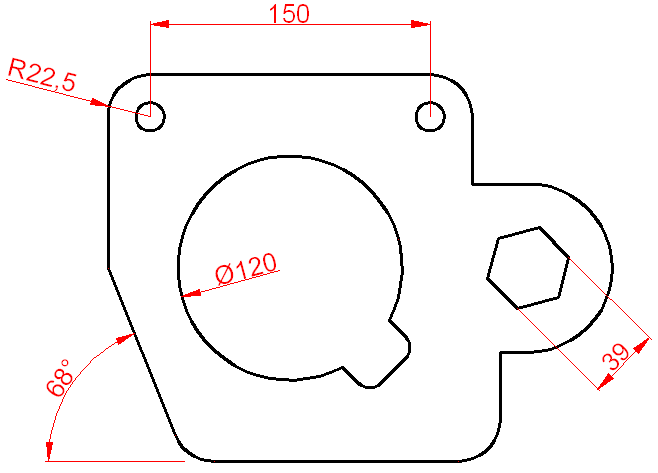 Dimensionamiento o acotación en Autocad 1