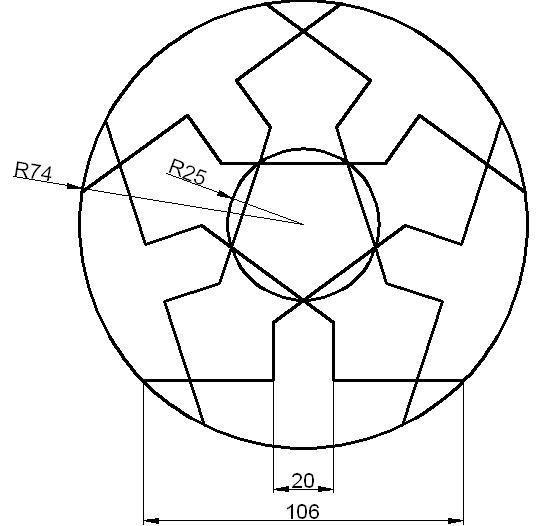 Ejercicios de diseño en Autocad 2D 2