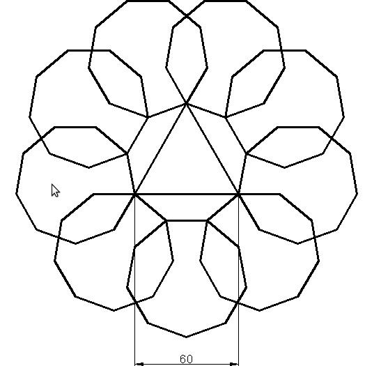 Ejercicios de diseño en Autocad 2D 1
