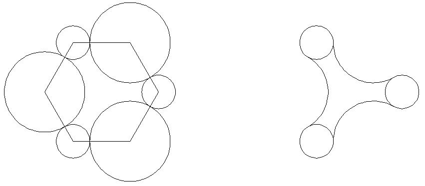 Dibujar un polígono (inscrito o circunscrito) 1
