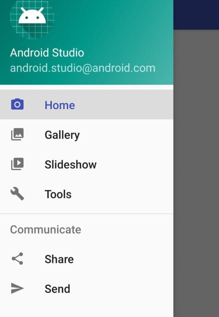 Navigation Drawer en Android
