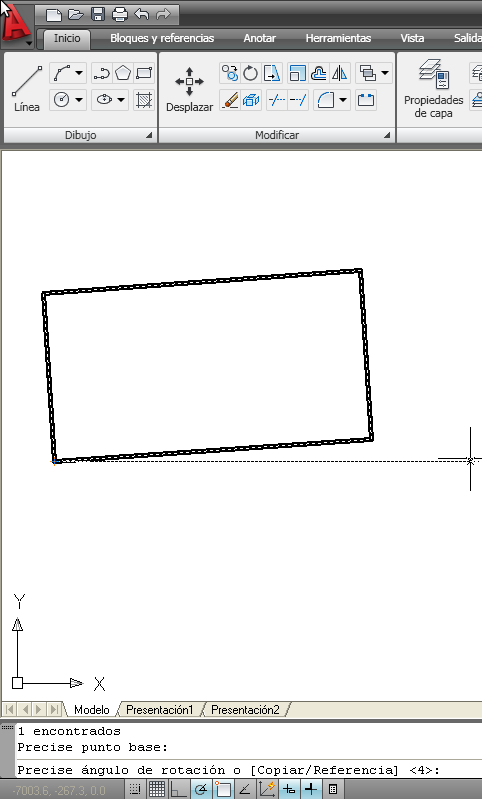 Rotar / Girar un objeto 1
