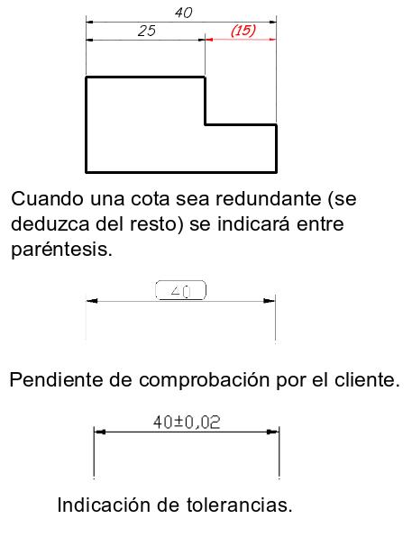 Dimensionamiento o acotación en Autocad 17