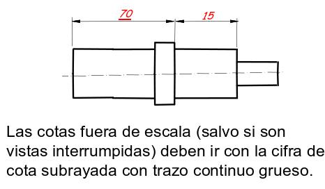 Dimensionamiento o acotación en Autocad 18