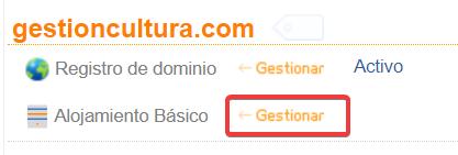 Cómo utilizar el hosting gratuito cedido por Don Dominio 6