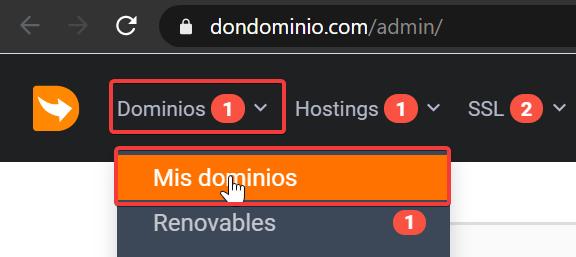 Cómo utilizar el hosting gratuito cedido por Don Dominio 3