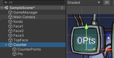 Acierta imagen en Unity3D 1